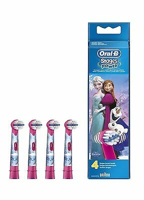 Braun Oral-B Frozen Electric Toothbrush Heads for Kids