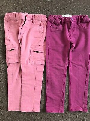 Childrens,Two Pairs Of Fat Face Trousers ,size 4 Years.Never Worn.