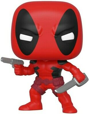 80th - First Appearance - Deadpool - Funko Pop! Marvel: (2019, Toy NUEVO)