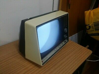 rare vintage NATIONAL PANASONIC TR-100 TELEVISION SET working