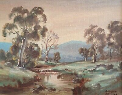 Ambrose Griffin. Original Oil Painting. A listed Australian artist.