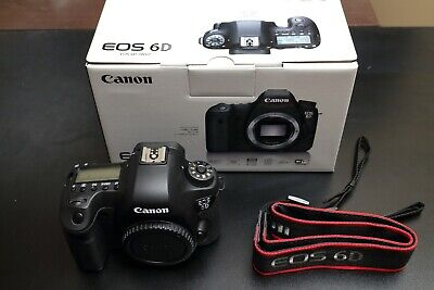 Canon EOS 6D 20.2MP Digital SLR Camera (Body Only) Excellent Condition