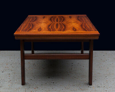 Mid Century Modern Large Rosewood Coffee Table