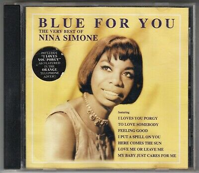 NINA SIMONE - Blue For you - BMG Global RADCD84 - CD Album - 1997