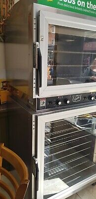 commercial bakery baking oven 2 pieces together very good condition.