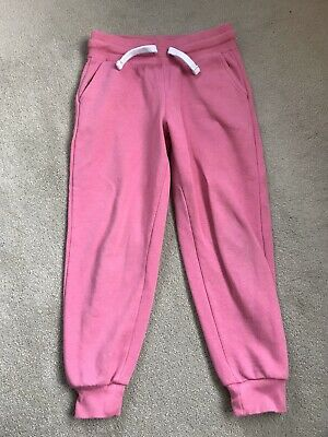 George Girls Pink Joggers Age 6-7 Years