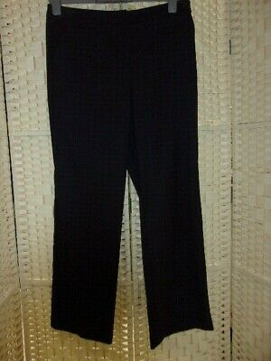 Size 14 berry check wide leg trousers from Marks and Spencer.