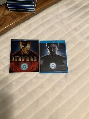 Iron Man Blu Ray With Slipcover