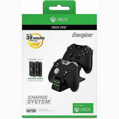Microsoft Licensed Energizer 2X Charging System for Xbox One New