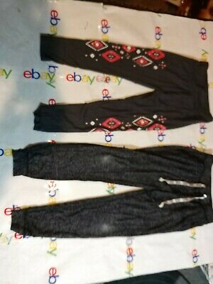 Youth Girls Justice Pants And Leggings Size 8