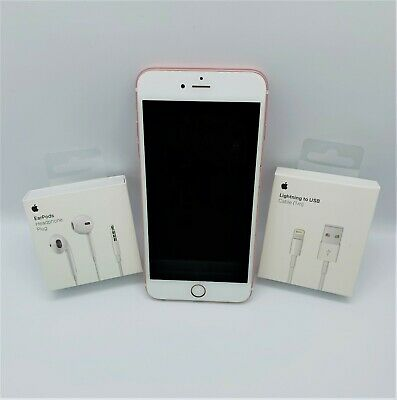 Apple IPhone 6s Plus 128GB Rose Gold Unlocked Used 1yr Warranty No Touch ID