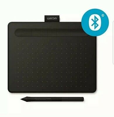Wacom Intuos Pen Graphics Tablet Black Small With Stylus &Bluetooth connectivity