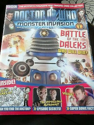 Dr who monster invasion issue number one