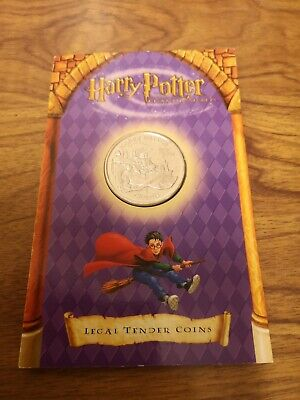 2002 Isle of Man one crown coin : Harry Potter : Dobby House Elf