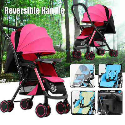 Compact Lightweight Buggy Baby Stroller Pram Easy Fold Travel Carry Pushchair