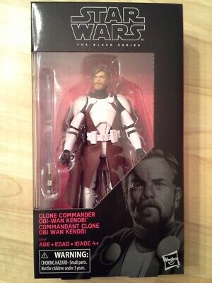 Star Wars Black Series Clone Commander Obi-Wan Kenobi NEW IN HAND