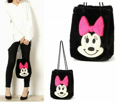 Disney Minnie Mouse Warm Material 2Way Tote Bag ROOTOTE Baby Roo Japan Tracking