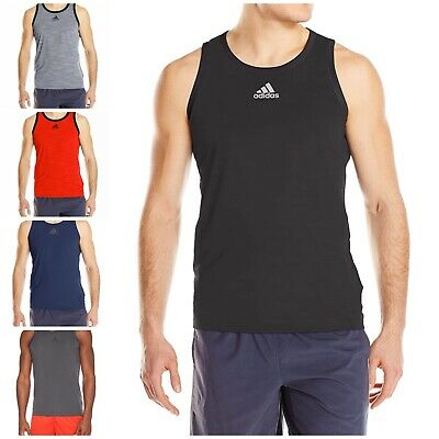 NWT $35 Men/'s Adidas 3G Performance Polyester Tank Top MSRP