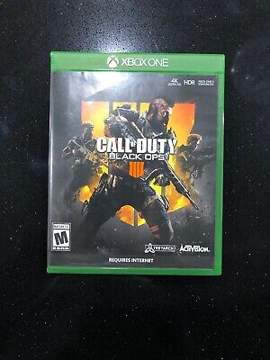 Call of Duty: Black Ops 4 (Microsoft Xbox One, 2018) - Adult Owned