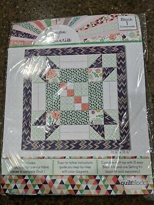 "JoAnn Quilt BOM Quilt Kits~Coordinating Cotton Fabric /""Canyon Sunrise/""~FQ/'s~NEW"