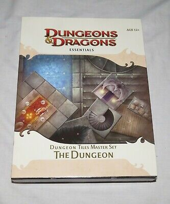 Dungeons & Dragons Essentials D&D Dungeon Tiles Master Set: Complete: Unpunched