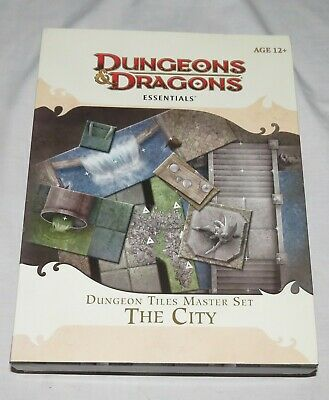 Dungeons & Dragons Essentials D&D The City Tiles Master Set: Complete: Unpunched