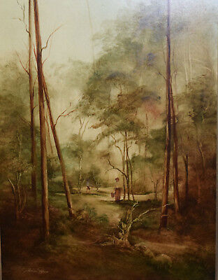 Australian School ~ Appealing Original Oil Painting
