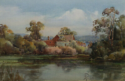 Alice Purton ~ Vintage Original Watercolour Painting ~ Coastal, Nsw