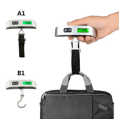50kg Portable Hanging Digital Electronic Travel Suitcase Luggage Weigh Scale