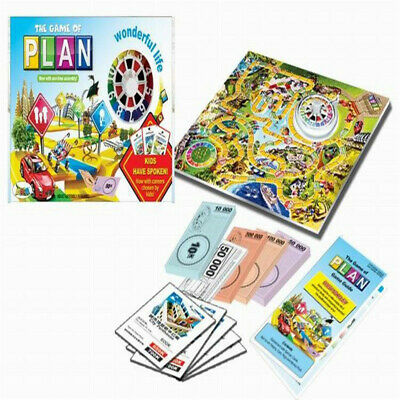 New Edition The Game of Life Board Game Fun Party Kids Family Interactive Gift