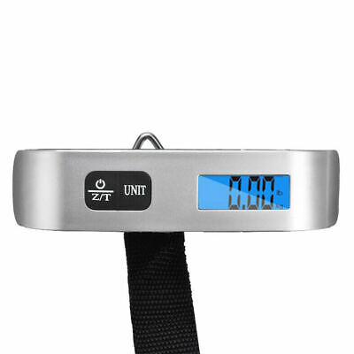 Digital Luggage Scale, WGGE Travel Luggage Weight Scale, Max 110lbs/50kg Baggage