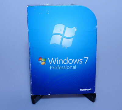 Microsoft Windows 7 Professional Pro SP1 FULL VERSION FQC-00129 GENUINE retail