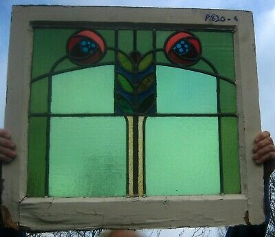 A820    -    5      Stained glass    Ca 1890s