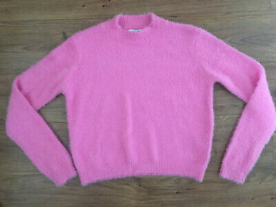 Primark Pink Fluffy Jumper 12-13 Years