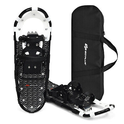 25inch Lightweight Aluminum All Terrain Snow Shoes for Men Women Youth W/Bag