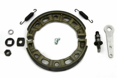 Front Brake Shoe Kit for Harley Davidson by V-Twin