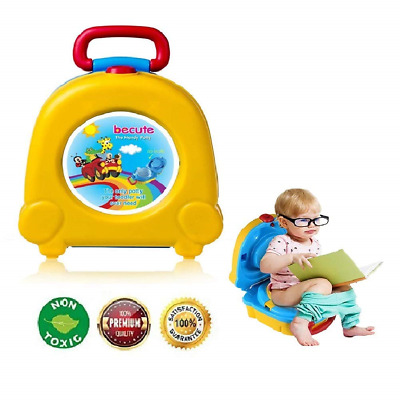 Portable Travel Potty for Kids Boys Girls Camping Car Travel,BeCute Potty for