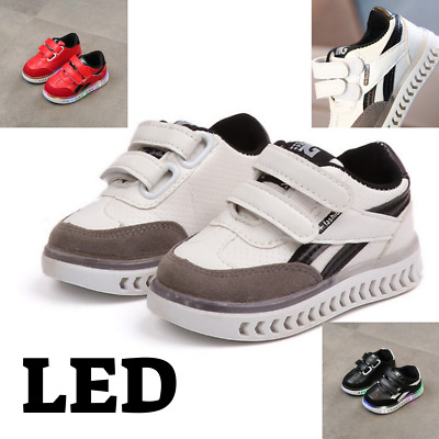 Kids Toddler Led Charging Glowing Sneakers Children Shoes for baby boys & girls