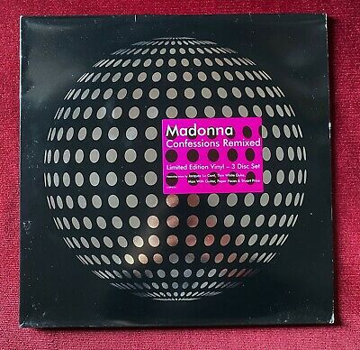 """Madonna Confessions remixed - 42916-0 - Vinyl 12"""" - Europe (Limited Edition)"""