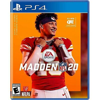 Madden NFL Football 20 PS4 Used Great Condition