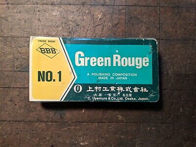 BBB No 1 Green Rouge Polishing Compound