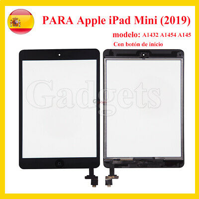 Pantalla Tactil Digitalizador Para iPad Mini (2019)  A1432 A1454 A145 Negro