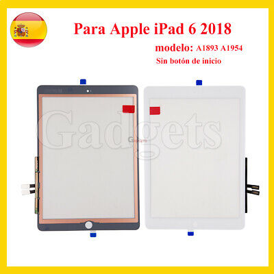 Pantalla Tactil Para Apple Ipad 6Th A1566 A1567 Digitalizador Blanco