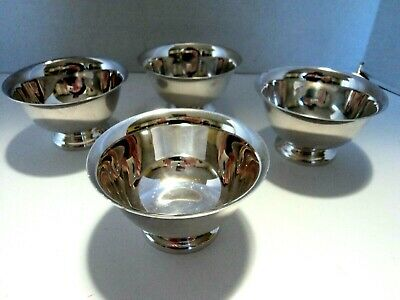 Reed & Barton Paul Revere Silver Plated Bowls ( Lot of 4 )