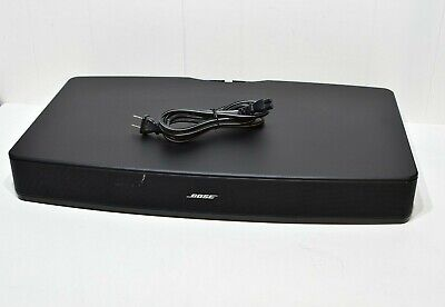 Bose Solo TV Sound System Black