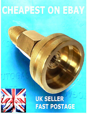 DISH EUROPE FILLING POINT LPG GAS GPL Filler to GAS Propane Bottle Adapter
