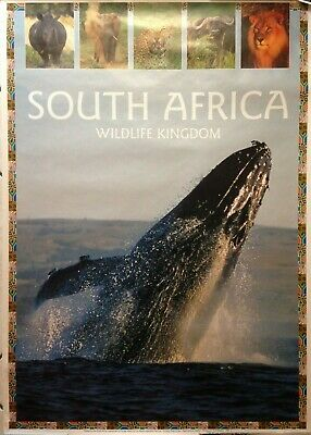 Lot 7 Affiches Touristique Special South Africa 1999