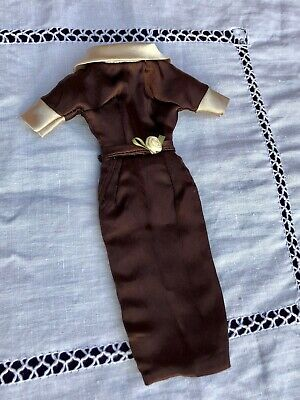 Barbie Silkstone Dress, Vintage Style Handmade Satin Seamstress Quality