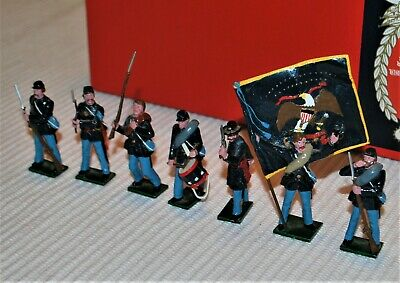 Tradition Toy Soldiers Civil War Set No. 903 Union Infantry