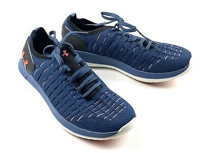 Under Armour Slingride 2 Mens Size 7.5 Blue Athletic Running Shoes Sneakers